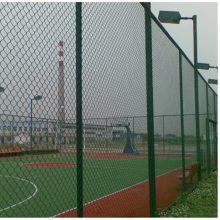 PVC菱形勾花网 焊接式球场护栏网 焊接式绿色球场围栏网供应