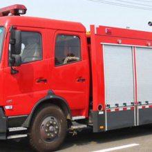 湖北江南东风天锦水罐消防车( 6—7 吨水)