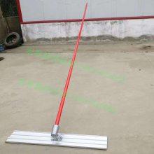 手工路面整平大抹板不锈钢刮平收光混凝土大抹子水泥地坪抹平尺杆