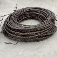 厂家批发巨力牌钢丝绳6X37+FC-15光面钢丝绳