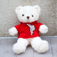 现货批发 站款卷毛磨圈卫衣泰迪熊 跨境专供 三色可选