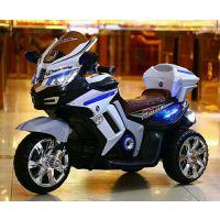哆萌儿童电动车 电动摩托车儿童摩托车儿童电瓶车电动三轮车