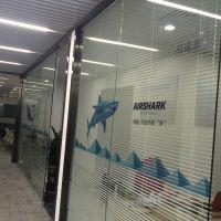 深圳超透橱窗贴双面玻璃贴纸打印 圣诞节日贴纸工厂在哪里