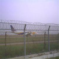 可移动防护网 防攀爬铁丝网 机场围墙网