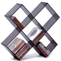 厂家定制 有机玻璃陈列展示架 亚克资料展示架 桌面摆式书架