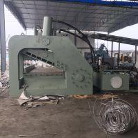 自动双龙门虎头切断机报价重庆1.6米剪口废铁虎头剪500吨龙门式剪视频