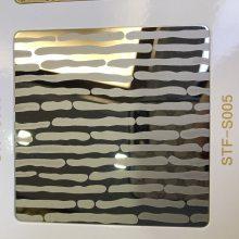 郑州厂家定做彩色不锈钢装饰板 不锈钢钛金镜面蚀刻板 不锈钢蚀刻青古铜板