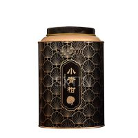 陈皮马口铁罐定制 茶叶马口圆形密封铁罐