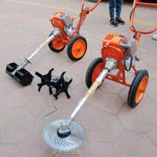 油耗少四冲程多功能剪草机-7马力柴油割草机-大宽幅手推柴油割草机厂家