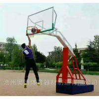 南京户外可移动球架沧州奥博-仿液压篮球架加盟销售TEV