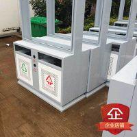 厂家直销 广告垃圾箱 广告位灯箱 智能垃圾箱 分类垃圾箱立式灯箱