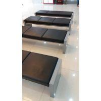 汕头五金厂 定制中国工商银行条凳 休息等候椅子 钢制沙发凳