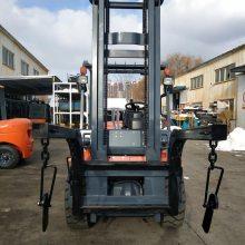 蓬莱开发区杭叉合力龙工3吨叉车侧移器/软抱夹/卡斯卡特叉车属具改装