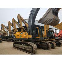 大型二手挖掘机沃尔沃EC460BLC进口9成新矿山型钩机