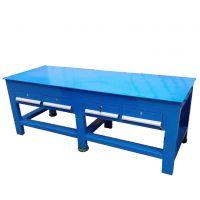 甘肃抽屉式模具钢板工作台,工业重型加厚工作台,兰州模具组装工作台
