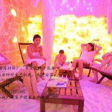 上海汗蒸房装修公司、上海盐晶汗蒸房装修、汗蒸房材料厂家