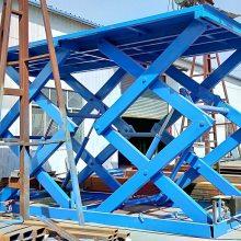 铜陵2020固定剪叉式升降机十大排名 仓库货物举升机 大吨位升降货梯 实体工厂