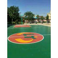 奥丽奇塑胶网球场厂家 室内塑胶篮球场 塑胶篮球场地面