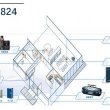 松下Panasonic集团电话交换机KX-TES824带电话T7730