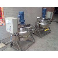 厂家直销 国禹不锈钢304可倾式 立式电加热夹层锅