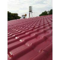 湖北黄冈仿古合成树脂琉璃瓦,防腐耐候钢结构建筑适用瓦