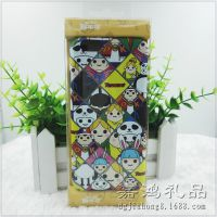 TGC腾讯游戏嘉年华赠品 销售PC水贴手机壳 卡通浮雕超滑手机套
