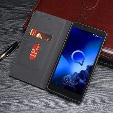 供应阿尔卡特Alcatel 1S 2019多功能手机皮套翻盖手机套中国风复古纹手机保护套