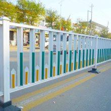 市政护栏交通隔离护栏道路中间护栏锌钢喷塑人行道护栏车辆分流护栏