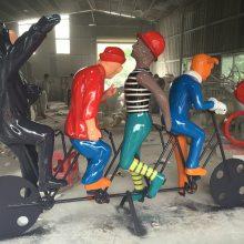 创意玻璃钢卡通雕塑 户外游乐场装饰工艺品