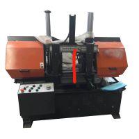 工厂直销金属带锯床 半自动液压锯床 小型双立柱4230锯床精度高