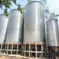 稻谷储存仓-镀锌波纹板钢仓-锦邦装配式钢板仓价格