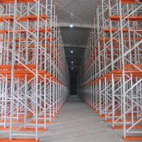 仓储设备 深层式货架 静电喷塑处理 应用于汽车 家具 食品等等行业