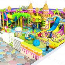 室内大小型游乐场设备 商场幼儿亲子乐园 淘气堡儿童乐园设备 儿童彩虹爬网设施
