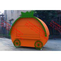 移动售卖亭,广场欧式贩卖花车,主题公园餐饮商品售货车