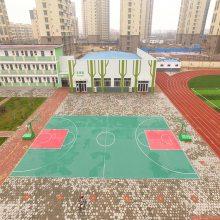建室外篮球场成本是多少 塑胶篮球场价格