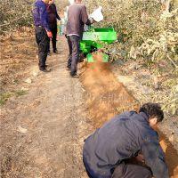 葡萄园荔枝园作业开沟机 高效率开沟施肥机