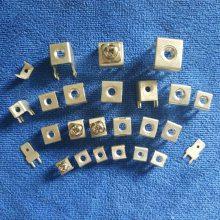 厂家 PCB焊接端子 螺母接线端子 接线柱 接线座 镀锡铜端子