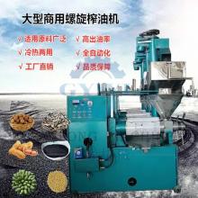 小型商用多功能榨油机 不锈钢螺旋榨油机 全自动花生菜籽油榨油机