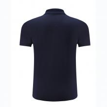 贵州短袖广告衫定做,POLO衫订制,T恤衫团购批发,HANL-8007贵州200克纯色丝光棉翻领