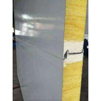 营口彩钢聚氨酯保温板冷库板960-1000型新型岩棉夹心板