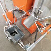 山东森泰多功能热熔划线机 双层保温道路标线机 手推路面划线机