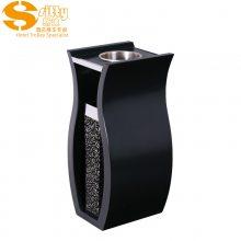专业生产SITTY斯迪95.1069B-1木质带不锈钢大堂垃圾桶