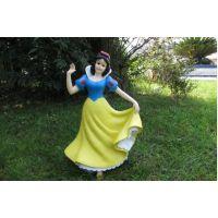 迪士尼白雪公主玻璃钢雕塑造型 成都玻璃钢制作厂家 专业定制