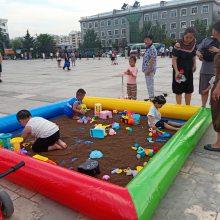摆地摊小型摸鱼池生意好吗 小孩夏季玩水摸鱼池批发价 摸鱼池充气垫哪里定做