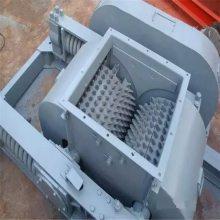 广东直销小型对滚式破碎机矿石钨矿粉碎机川绮矿山碎石机