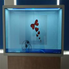 厂家直销55寸液晶透明柜 智能液晶透明展示柜 高清全彩液晶透明显示柜
