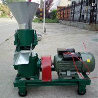 饲料颗粒机新机器如何磨合/压粒机成型高
