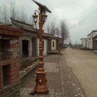 济宁中达厂家制造中式仿古高杆灯 别墅庭院太阳能照明灯