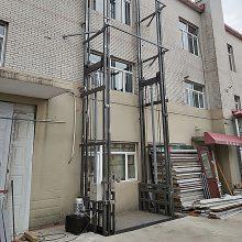 SJD导轨式升降机 载重3吨壁挂式升降机 厂房液压货梯专业定制安装
