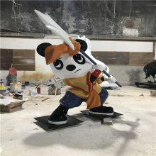 揭阳玻璃钢卡通公仔雕塑制作厂家